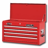 CHEST 26 INCH 4 DRAWER-RED PRO MAXX SERIES