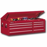 "56""W X 24"" D TOOL CHEST,8 DRAWER RED"