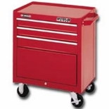 "CABINET 26"" 3 DRAWER-RED PRO MAXX SERIES"