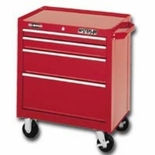 "CABINET 26"" 4 DRAWER-RED PRO MAXX SERIES"