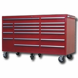 "RED 72"" 18 DRAWER TOOL CABINET"