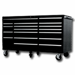 "BLACK 72"" 18 DRAWER TOOL CABINET"
