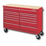 CART 60IN 13 DR TOOL RED