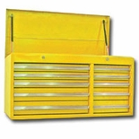 "40""YELLOW CHEST,10 DRAWER"
