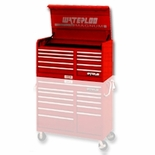 CHEST 10DR 46IN-RED MAGNUM