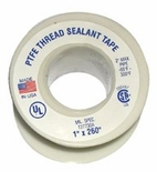 "TEFLON TAPE 1"" X 520 PACK OF 10"