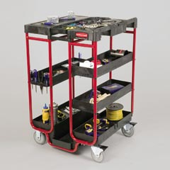 Ladder Cart with Open Ends