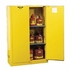 JUSTRITE 60 GALLON SELF-CLOSING SAFETY CABINET