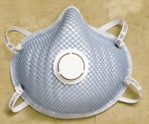 MED/LG N95 PARTICULATE RESPIRATOR 10 PER BOX