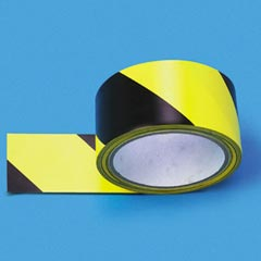 CAUTION STRIPE TAPE 2 X 108 ADHESIVE-BACKED