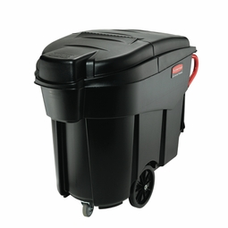MEGA BRUTE MOBILE WASTE CONTAINER 120 GAL BLACK