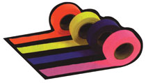 1-3/16 X 150' ROLL  FLAGGING TAPE PINK GLO