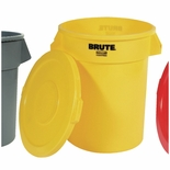 BRUTE CONTAINER 32 GAL YELLOW