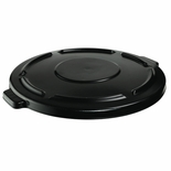 BRUTE VENTED LID FITS 44 GAL ROUND CONTAINERS BLACK