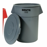 BRUTE ROUND LID FITS 55 GAL CONTAINERS GRAY