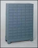 72 Drawer Cabinet System with Stand