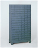 96 Drawer Cabinet System with Stand