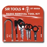 12 PC DELUXE RADIO REMOVAL TOOL KIT