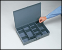 Large Scoop Compartment box (adjustable with dividers)