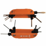 FOLD UP WIRE TERMINAL EXTRACTOR KIT WITH 12 BARBS