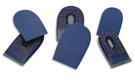 Star Heel Spur Pads for Plantar Fascitis from G&W Heel Lift