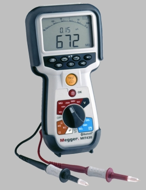 Megger® MIT430 Insulation Tester