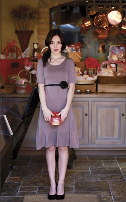 "Mikarose ""Ashley"" Dress in Cinder"