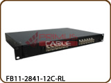 12 Port Fiber Patch Panel - Loaded SC Simplex - Rackmount