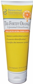 Tri-Fortify� ORANGE (Liposomal glutathione & Vitamin C) - 8 oz Tube