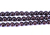 "Garnet Gemstone Round - 8mm 16"" GAR-ROD-003"