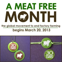 Featured: A Meat Free Month