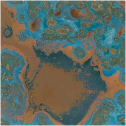 Azul Patina Copper Sheet
