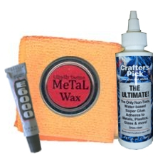 Glues,  Waxes and Polish Pads