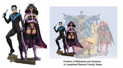 DC Direct The Batman Family Part 2 Nightwing and Huntress Statue