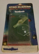 Star Blazers Fleet Battle System Gamilon Tri-Deck Carrier Miniature