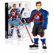 Upper Deck NHL All Star Vinyl Joe Sakic Maroon Jersey Figure
