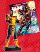 Classic Marvel Figurine Collection Magazine Jack of Hearts #121