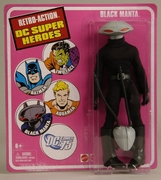 DC Universe Worlds Greatest Super Heroes Mego Retro Black Manta Figure