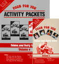 Four for You! Volume 4 Set, DVD & Activity Packet