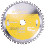 "Evolution 7"" Stainless Steel Cutting Blade for EVO180V2 Saw"
