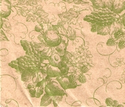 "Fruit Toile / Kraft 24""x100'"