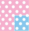 "Baby Dots Reversible 24""x417'"