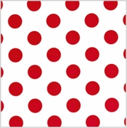 Polka Dot Red