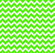 Bold Chevron Apple Green