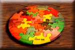 Wooden Educational Jig-Saw Puzzles