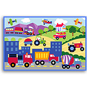 Trains Planes Trucks Placemat