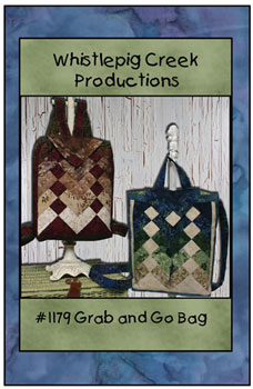 Grab & Go Backpack Bag by Susan Marsh for Whistlepig Creek Productions for United Notions SKU# WP-1179