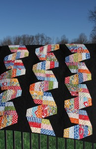 Fast Forward Quilt Pattern by Julie Herman for Jaybird Quilts