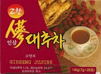 Korean Ginseng Jujube Tea S