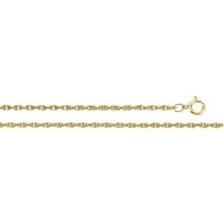 14K Yellow Gold 1.5 mm Solid Rope Chain